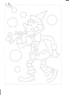 . Clown Crafts, Paper People, Circus Clown, Winter Crafts For Kids, School Pictures, Pre School, Stitch Patterns, Clip Art, Activities