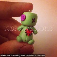 Marshfellow Voodoo Mini ||| clay, toy, doll, house, marshmallow