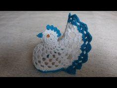 Jak zrobić wielkanocną kurkę - Szydełko - YouTube Crochet Sheep, Crochet Angels, Crochet Baby, Crochet Bikini Pattern, Crochet Motif, Crochet Butterfly, Crochet Flowers, Crochet Chicken, Easter Crochet Patterns