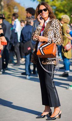 Leopard blazer  | For more style inspiration visit 40plusstyle.com