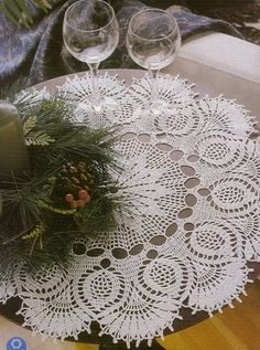 Crochet Centerpiece - see very clear and easy to read chart for this!!