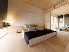 xevoΣ -和暮らし-|注文住宅|ダイワハウス Japanese Modern House, Japanese Living Rooms, Japanese Home Design, Japanese Home Decor, Japanese Interior, Living Room Modern, Contemporary Interior, Zen Interiors, Tatami Room