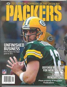 2012 Green Bay Packers Yearbook | eBay
