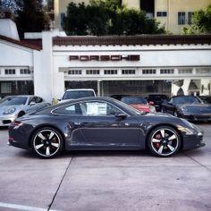 Anatomy Greys #PORSCHE #50Y911 (at Beverly Hills Porsche) Porsche 911 50th Anniversary Edition. 888-391-3469