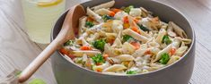 In the mood for pasta? Treat yourself to Hidden Valley's tasty Penne Pasta With Vegetables, guaranteed to curb all your cravings. Quick Recipes, Quick Easy Meals, Vegetable Recipes, Easy Dinner Recipes, Pasta Recipes, Great Recipes, Vegetarian Recipes, Cooking Recipes, Dinner Ideas