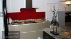 "Lemon Spice with Glass Splashback ""I can't think of a time when I was more impressed with customer service than when I used The Granite House. The service provided by Lynne was excellent, Tim could not have been more helpful, in terms of insisting we saw a larger piece of granite before confirming our order, understanding how I wanted the granite cut, and the guys that did the templating and fitting were extremely professional. I am absolutely delighted..."" #GraniteWorktops"