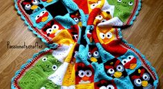 Hi to all of you who are reading my blog it is my first publication and I am a bit excited about it. I would like to share my angry birds blanket with you as my first publication 'cause the idea of creating the angry bird blanket started from my wish to have a free …  Read More  Read More