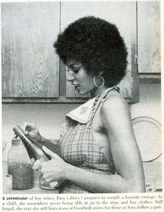 Fine like Wine Pam Grier via @Nichelle Stephens