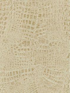 Alligator Skin Wallpaper bath or hall or dining room!