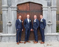 Groom and Groomsmen Suits from Menswear in Galway Groom And Groomsmen Suits, Wedding Flowers, Wedding Dresses, Wedding Venues, October, Menswear, Wedding Photography, Bride, Fashion