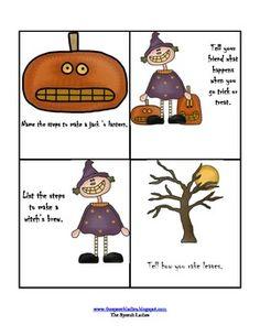 Halloween sequence activity.