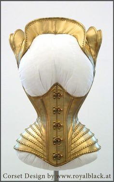 by Royal Black couture and corsets