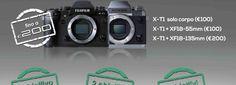 Arriva la #promozione estiva #Fujifilm per cambiare fotocamera