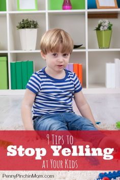 We are human and it is so easy to lose our cool (especially when it comes to kids).  Yelling helps no one, but we can't help it.  Find out these nine things you can try to stop  yelling at your kids (which makes everyone much happier).