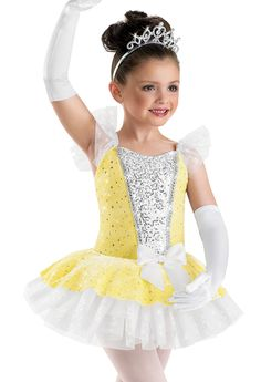 Sequin Princess Tutu Dress; Weissman Costumes