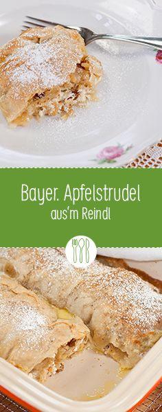 Apfelstrudel aus'm Reindl – es gibt Nix Besseres … #bayerischeküche #diehauswirtschafterei