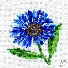 Cornflower - Cross Stitch Kits by RTO - H171
