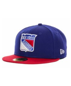 New Era New York Rangers Basic 59FIFTY Cap - Blue 7 1 4 534572ec73f