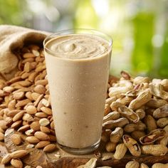 Try Smoothie King's top-selling PB & G (Peanut Butter & Grains) Smoothie for a delicious dose of protein.