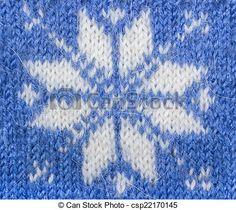 Resultado de imagen para tejido punto jacquard  copo de nieve