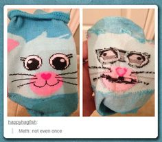 The Inside Of A Sock / 靴下を内側にひっくり返すと…