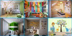 25 Idee per Decorare le Pareti delle Camerette dei Bambini | MondoDesign.it