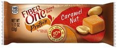 Fiber One Protein Bar Caramel Nut Chewy Bars 5 Fiber Bars 5.85 oz * Visit the image link more details. (Note:Amazon affiliate link) #healthydietsnacks