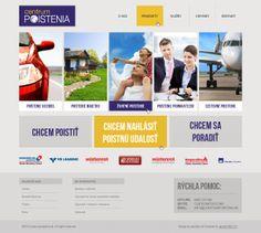 Webdizajn - Centrum Poistenia