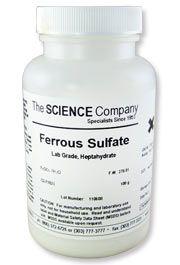 $6.95 - Ferrous Sulfate, 100g