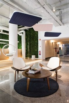 ViCloud is an acoustic solution for ceilings in Open Plan Offices and other workspaces. Productivity In The Workplace, Workspaces, Open Plan, Ceilings, Offices, Acoustic, How To Plan, Outdoor Decor, Modern