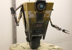 NECA Toys will bring Borderlands' helpful unicycling robot Claptrap to store shelves in toy form this October, complete with the ability to dispense a catchphrase or two. Description from kotaku.com. I searched for this on bing.com/images