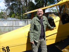 YB3 Aircraft Tracker on board of Yellow Tiger Moth