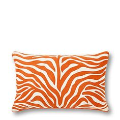 Love this Zebra Chain Stitch Pillow Cover for $58 on C. Wonder for a safari-themed nursery.