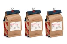 Fernwood Coffee by Glasfurd and Walker, via Behance