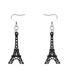 """Paris, mon amour: """"Tour Eiffel"""" Ohrhänger @ www.schmuckladen.de"""
