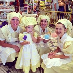 Mom Sews Incredibly Accurate Disney Costumes For Her Daughter To Wear At Disney World | Cast Member Uniform