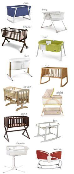 Twelve Modern Baby Bassinets