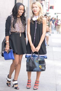 Best Street Style at NY Fashion Week Spring 2014 | Pictures | POPSUGAR Fashion Photo 136