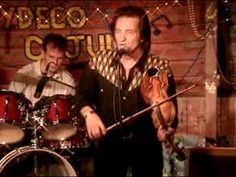 """From """"The ragin' Cajun """" .... The king of the fiddle. His son on drums. - DVD c. """"KULTUR""""  -"""