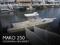 Buy 1981 Mako 23 Used at online store Mako Boats, Fishing Boats For Sale, Sea Isle City, Boat Dealer, Local Companies, Old Boats, 25 Years Old, New Jersey, Sun Lounger