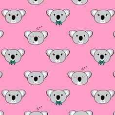 Koala Pattern / Everett Co.