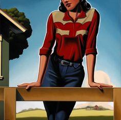 Kenton Nelson American Scene Painting, Charles Demuth, Works Progress Administration, Art Themes, Retro Art, American Art, Fashion Art, Pop Art, Art Gallery