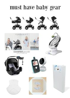 We spent all year researching baby gear and came up with our own, very best, Must have baby gear list!