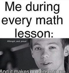 "But suddenly... Our teacher mentions the word ""direction"" Me: *screams and tumbles and falls*"