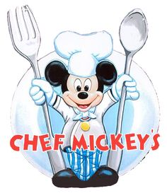 Chef Mickey's - let's go there now!