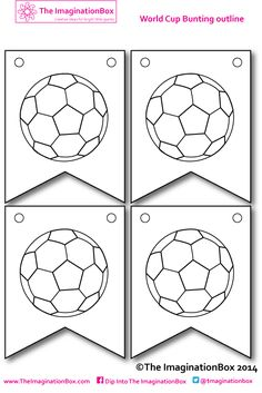 Kids free printable activity sheets to design your own soccer / football team kits, boots, balls, socks and Football Team Kits, Football Themes, Football Art, Soccer Art, Soccer Crafts, Kids Soccer, Soccer Stuff, St George Flag, Vive Le Sport