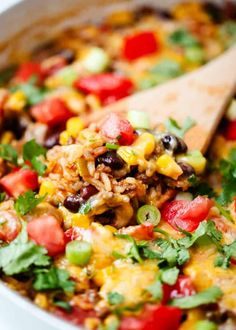 EASY and Delicious One Pot Burrito Bowls – I Heart Naptime One Pot Burrito Bowls Recipe – Easy and delicious one pot meal! This dinner recipe is made in one pot in 30 minutes…making clean up a breeze. Perfect for busy week nights! Burritos, Cooking Recipes, Healthy Recipes, Easy Recipes, Lunch Recipes, Delicious Recipes, Keto Recipes, Breakfast Recipes, Clean Dinner Recipes