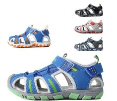 2014  children boy and girls kids velcro fretwork leather sandals shoes/  fashion summer shoes free shipping
