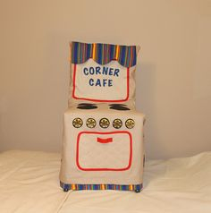 Play Kitchen Stove Chair Cover, Cloth Kitchen Chair Cover, C70