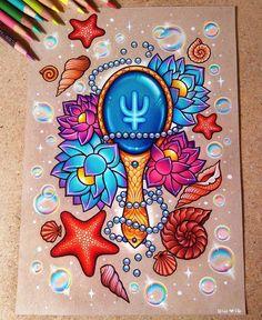 Colorido super perfeitooooo!!!! @Regrann from @dannii.jo -  #lapisdecor #artecomoterapia #coloring #instaart #coloriage #instacoloring #colorido #colorir #colorindo #drawing #art #prismacolor #coloredpencil #sailormoon #sailorneptune #Regrann